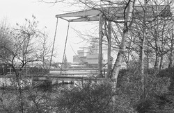 Stadhuis Terneuzen met bruggetje bij de Oostkolk.