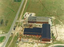 Luchtfoto van Sagro Staalbouw Zeeland B.V. aan de Frankrijkweg te...
