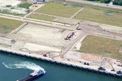 Werkzaamheden bouwrijp maken terreinen Scaldiahaven Noordzijde.