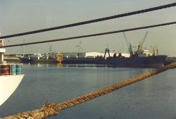 Schepen in de Bijleveldhaven.