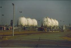 Eurogas Terminals C.V. aan de Quarleshaven te Vlissingen-Oost.