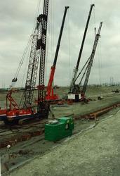 Fotoreportage aanleggen Westhofhaven te Vlissingen-Oost in de periode...