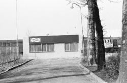 Kantoor van de Nederlandse Spoorwegen aan de Stationsweg in Terneuzen.