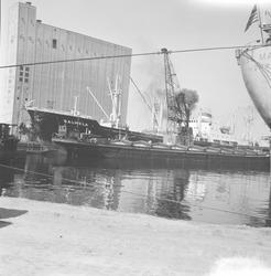 Zevenaarhaven met graansilo.