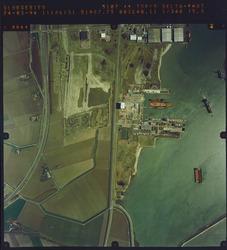 Luchtfoto Sloegebied, Scheldepoort.
