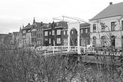 Ophaalbrugje over Zijkanaal H aan de Oostkade te Sas van Gent.