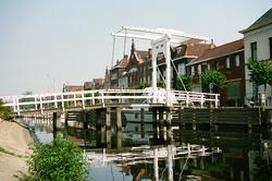Brugje over Zijkanaal H aan de Oostkade te Sas van Gent.