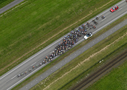 Wielerronde Ronde van Zeeland Seaports. Waarschijnlijk Europaweg-West.