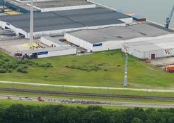 Wielerronde Ronde van Zeeland Seaports. Passage Europaweg-Noord.
