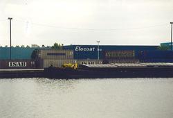 Vestiging van Elocoat B.V. aan de Zevenaarhaven. Foto gemaakt ten...