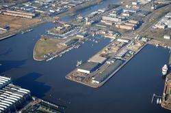 Eerste en Tweede Binnenhaven te Vlissingen.