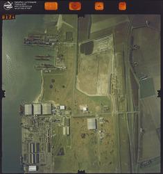 Luchtfoto Vlissingen-Oost, ter hoogte van Scheldepoort.
