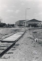 Spoorwerkzaamheden bij de Noorderkanaalhaven.