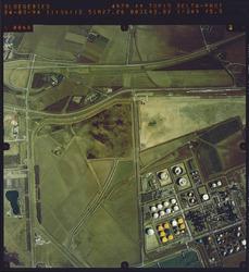 Luchtfoto Sloegebied, gedeelte Total.