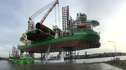 Platformschip Innovation in de Westhofhaven.