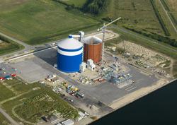 Nieuwbouw suikersilo bij Zeeland Sugar Terminal