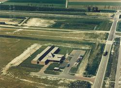 Luchtfoto kantoor Havenschap Vlissingen aan de Engelandweg te...