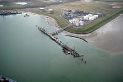 Bouwen 2e fase steiger Mosselbanken ten behoeve van Oiltanking...