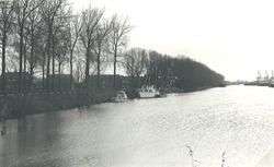 Zijkanaal B bij het Kanaaleiland Sluiskil.