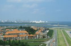 Gedeelte van de Scheldeboulevard, Scheldekade en binnenstad van...