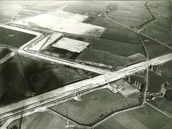 Luchtfoto terrein Total Raffinaderij te Vlissingen-Oost.