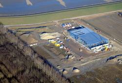 Nieuwbouw werkzaamheden in het Maintenance Valuepark Terneuzen....