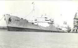 Russisch zeeschip in de Zevenaarhaven.