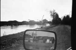Zijkanaal D bij het Kanaaleiland Sluiskil, deels gezien vanuit de...