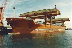 Zeeschip Saga Breeze aan de Sloekade.