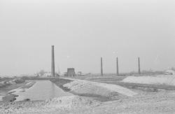 Voormalige staalfabriek op de plaats waar later de Massagoedhaven is...