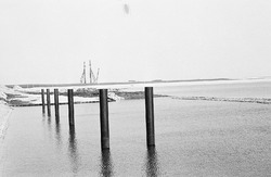 Werkzaamheden aan kade / zate in de Braakmanhaven.