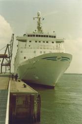Passagiersschip Sloekade.
