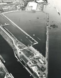 Luchtfoto aanleg Massagoedhaven