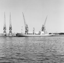 Papieroverslag bij Aug. de Meijer in de Zevenaarhaven.