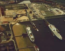Luchtfoto Vlissingen Buitenhaven.