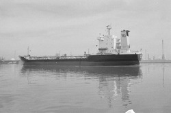 Zeeschip in de Braakmanhaven.