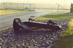 Anker voor kantoor Havenschap - geplaatst 9 december 1981.
