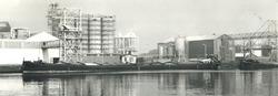 Fabriek Cerestar te Sasn van Gent.