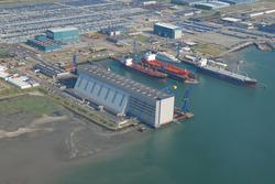 Luchtfoto van Scheldepoort.