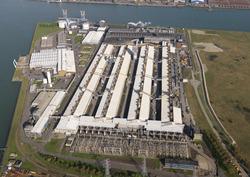 Sloopwerkzaamheden van een deel van het fabriekscomplex van de...