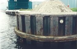 Meerstoel aan de Noorderkanaalhaven.