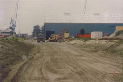 Werkzaamheden / uitbreiding loodsen van Verbrugge achter de Ro-ro I...