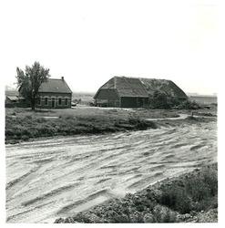 Boerderijtje in de omgeving van de latere Massagoedhaven.