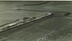 Havenmond Sloehaven in januari 1965
