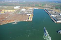 Luchtfoto van de Bijleveldhaven.