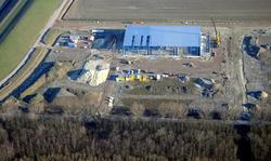 Werkzaamheden in het Maintenance Valuepark Terneuzen.Nieuwbouw TMS...