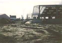 Bouwen van een nieuwe loods bij Verbrugge Terminals aan de...