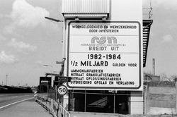 Uitbreiding Nederlandse Stikstof Maatschappij (NSM) te Sluiskil.