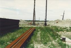 Bouwput aanleg 2e fase Bijleveldhaven, 200 meter kade.
