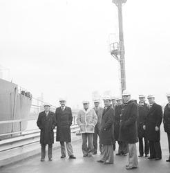 Bezoek Braakmancommissie aan de Braakmanhaven en Dow Chemical, januari...